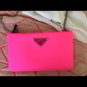 New!!!PRADA Pink crossbody